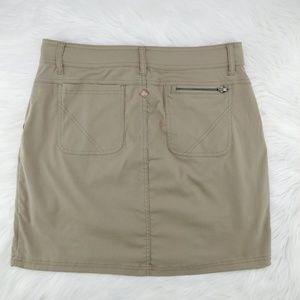 Prana Skirts - Prana   khaki above knee Monarch skirt